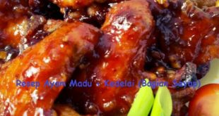 Resep Ayam Madu + Kedelai (Bagian Sayap)
