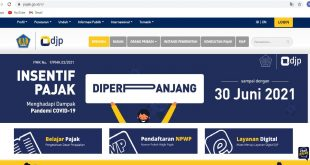 Cara daftar NPWP online www.pajak.go.id daftar online